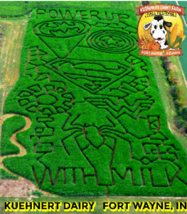 Corn Maze Power-Up 2016 Kuehnert Fall Festival
